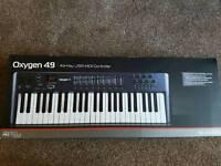 M Audio Oxygen 49 midi
