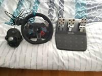 Logitech G29 Racing Wheel including Pedals and Shifter