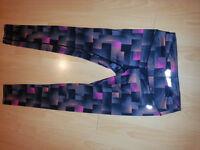 Designer Penn leggings - bright, colourful, size M