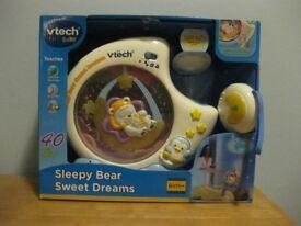Vtech Sleepy Bear Sweet Dreams lullaby projector