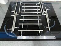 Stainless Steel bar style kitchen cupboard handles