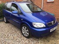 Vauxhall zafira 2.0 dti 2005 turbo diesel