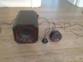Philips 2.1 Spa5300 speaker system