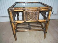 DARO Rattan 2 tier Coffee Table - Perfect condition