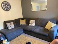 Right hand corner DFS sofa