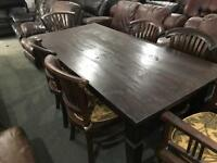 Stunning as new table and 6 chairs