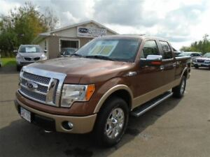 2012 Ford F-150 Lariat Leather Sunroof 4X4 Crew Cab
