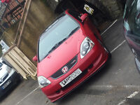 Honda Civic EP2 Sport - Full Service History Milano Red - JDM Type R Rep Integra