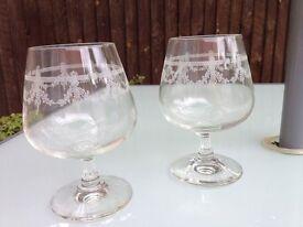 Crystal Brandy Cognac or wine glass