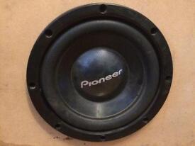 """12"""" Pioneer Subwoofer (NOT Alpine JBL Kicker JL Hifonics Rockford )"""