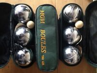 3 set of French boules
