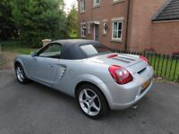 28k Miles, '54 Toyota MR2 1.8 VVTi 6-Speed, Full service History (mx5), collectible example