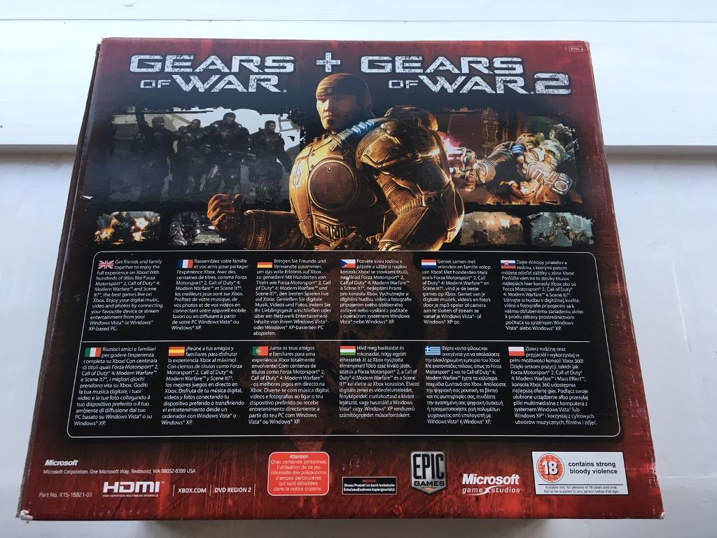 Limited Edition Gears Of War Xbox In Whitstable Kent Gumtree - Minecraft pc und xbox zusammen spielen