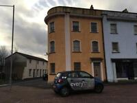 One bed flat to rent in Newport.