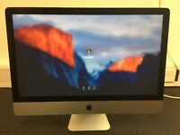 "27"" iMac, Great condition, 2012, 2.9GHz Intel Core i5, 24GB Ram. Model 13,2"