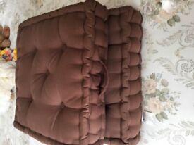Armchair booster cushion