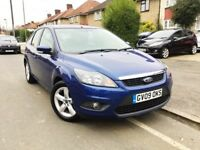 2009 FORD FOCUS 1.6 ZETEC 5DR,45000 MILES,FORD SERVICE HISTORY,NEW MOT & SERVICE DONE,GRAB A BARGAIN