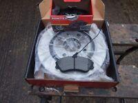 Citroen berlingo front brake pads and discs