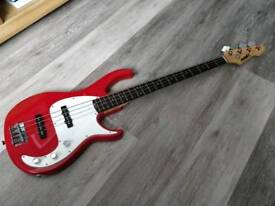 Peavey Milestone III Bass Guitar in Red