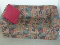 Sofabed Double Very Good Condition Unfolds in seconds.