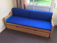 Trundel Sofa Bed (2 single Beds)
