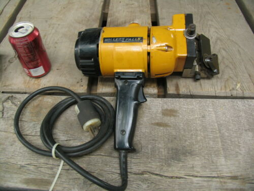 Sheet Metal Edge Turning Electric Hand Tool  (MILLERS FALLS #SP9519 Model B)