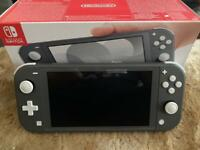 Nintendo switch lite grey Like new. 2month old