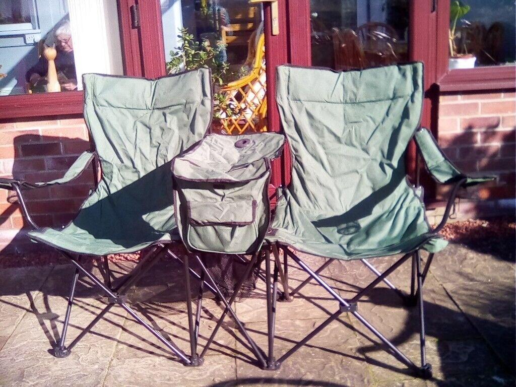 Gelert Double Folding Camping Chair