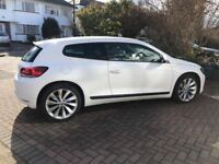 Scirocco in White, 12 reg, great car which still drives like new, 2 owners.