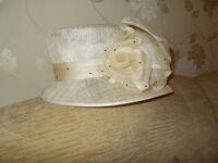 John Lewis Wedding Hat *Stunning hat* Ideal for Winter Wedding!