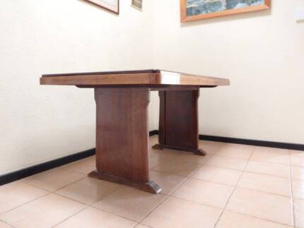 For Sale Solid English Oak Dining Table