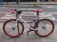 Almost brand new Single gear bike for sale