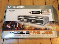 M-AUDIO Preamp and Audio Interface