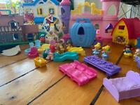 Little people princess fisher price toy house lot
