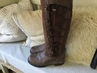 Ariat long leather riding/country boots