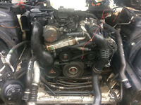 bmw n47 2.0 diesel engine for supply and fit 3 month warrenty call parts thanks