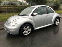 2003 vw beetle 13 MONTHS MOT low miles tidy car drives superb l@@@@k