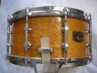 """Tama AW546 Artwood Pat 30 BEM snare drum 14 x 6 1/2"""" - Japan - '80s - Gladstone homage."""