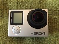 GoPro Hero4 with accessories