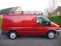 FINANCE ME!! NO VAT!! Stunning Ford Transit Swb 110 Bhp Trend,Massive Rhino Rack and Rear Ladder!!