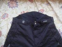 """Men's Black """"Shredz"""" USA Original Outwear Ski Trousers - Size L"""