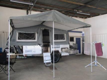 2016 Black Series Dominator Off-Road Forward Fold Camper
