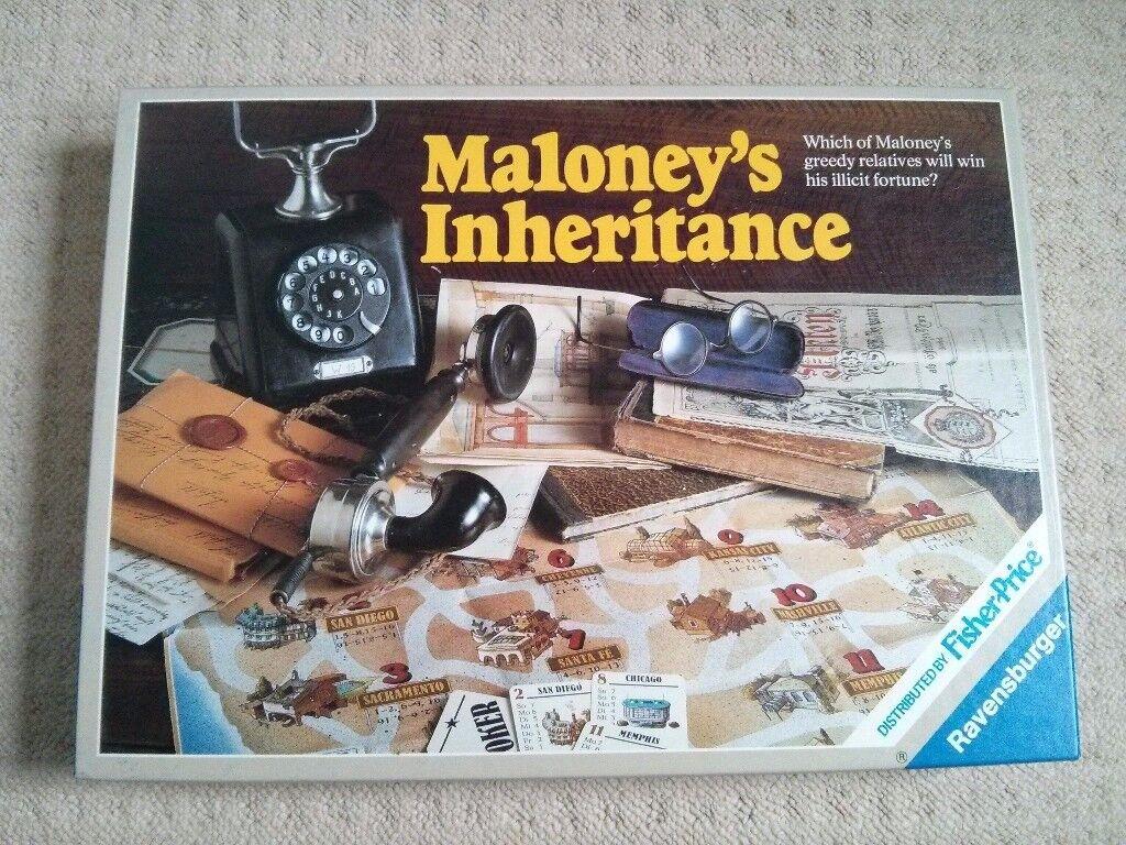 Maloney's Inheritance board game