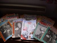 Vintage Private Eye Magazines