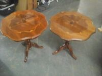 Pair of side tables £25 PAIR