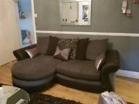 MUST GO AS NEW CHAISE AND LARGE SWIVEL CHAIR