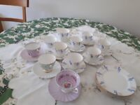 Vintage China - Tea Set Plus 3 Individual cups & saucers