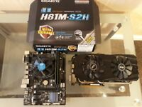 Motherboard bundle, i5 cpu, 8gb ram, r9 290x 4gb