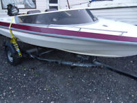 Speedboat and 60 hp outboard outboard has problems