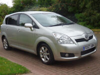 TOYOTA COROLLA 2.2 VERSO SR D-4D 5d 135 BHP PARKING SENSOR ++ 1 PREVIOUS KEEPER DIESEL + 7 SEATS +